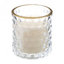 candle scented glass + gold 200g, 2- times assorte