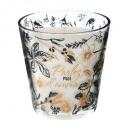 vela perfumada vidrio nina oro 250g, 2 veces tambi