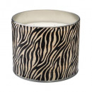 scented candle zinc 350g, 2- times assorted , blac