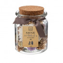 pot pourri jar pm parche 70g, marrón