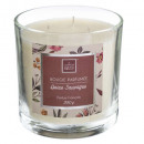 scented candle glass loyal berries 390g, beige