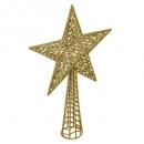 hurtownia Pozostałe: brokat gwiazda brokat h38cm złoto
