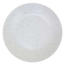 plate white cluster plate 27cm, white
