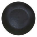 plate black cluster plate 27cm, black