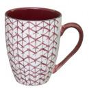 mug m shibori 34cl, 6-fois assorti, couleurs assor