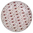 plate presentation shibori 32.5cm, 6-fold assor