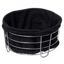 zwarte multifunctionele basket bistr, zwart