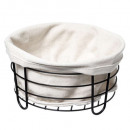 white multi-purpose basket bistr, white