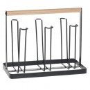 wholesale Drinking Glasses: bistrot glass drainer, black