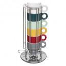 rack 6 cups 5cl + cap holder