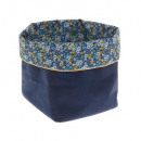 cozy fabric basket, 2- times assorted , assorted c