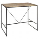 dinner table bar 115x70 edena, black