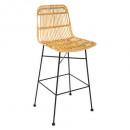 chaise bar kubu nat, beige
