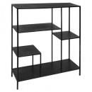 shelf 100x110 black wood gota, black
