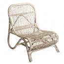 sillón de ratán natural tamara, beige