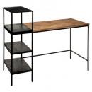 desk shelf yoho, black