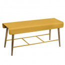 banc diner color oc 100x37, moutarde