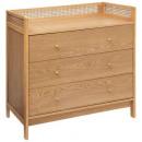 arty 3-drawer chest, beige