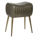 stool kavali green leather, green