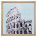 lienzo impreso / ciudad cad 58x58, 2 veces surtido