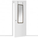 marble door mirror 34x94, 2- times assorted , colo