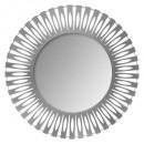 espejo metal corte nola d89, gris