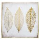 Lona impresa / cad / foil pluma 58x58, dorado
