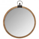 wood mirror gusset d74, brown