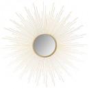 miroir metal soleil bombe or d70, or