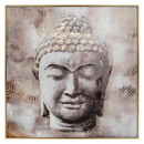 printed canvas / cad / fl Buddha 102, multicolored