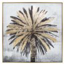 bedrukt canvas / cad / palmfolie 75x75, veelkleuri