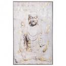 lienzo im / cad / fl buddha 75x115, multicolor
