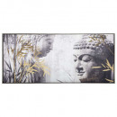 lienzo im / cad / fl buddha 115x55, multicolor