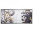 vászon im / cad / fl buddha 115x55, tarka