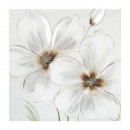 flower canvas 48x48, 3- times assorted , sinks