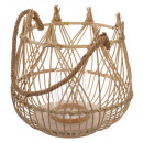 lantern basket d33xh31 earth, 2- times assorted ,