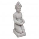 Boeddha CIM theelicht H36, grijs