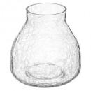 vase craquele trapu d20 h19,5, transparent