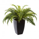 fern pot plast h55, green