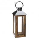 mango lantern stainless steel h50, medium beige