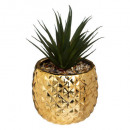 pineapple plant ceramic h21, 3- times assorted , s