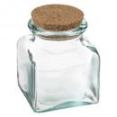 kruik van gerecycleerd glas, 500 ml, transparant