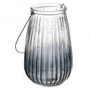 box tealight handle metal shade h29, 3-fold assort