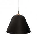 lámpara colgante de metal judi nr d40, negro