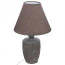 lampe ceramique h32cm balvy, 3-fois assorti, coule
