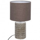 taupe concrete lamp h33,5 melo, taupe
