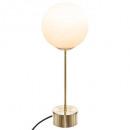 table lamp ball dris h43cm, gold