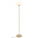 staande lamp bal dris h134cm, goud