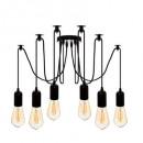 wire suspension x6 udell, black