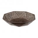 taza de resina tierra d25, marrón